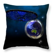 Force Field Throw Pillow by Corey Ford