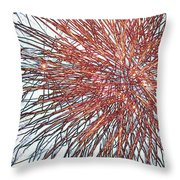 Force Field Variation 2 Throw Pillow