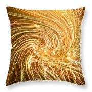 Force Field Variation 1 Throw Pillow