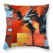 Force Heat Stability Throw Pillow