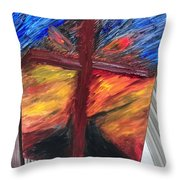 Force Of God Throw Pillow