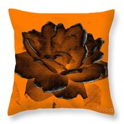 Forced Into Shape Throw Pillow