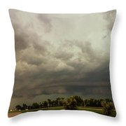 Forces Of Nebraska Nature 037 Throw Pillow