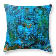 Forces Of The World Throw Pillow