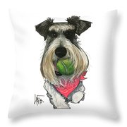 Ford 3235 Miley Throw Pillow