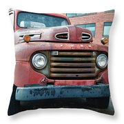 Ford 4625 Throw Pillow
