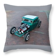 Ford 5-window Coupe Throw Pillow