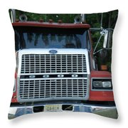 Ford 9000 Power And Confort... Throw Pillow