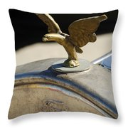 Ford And An American Eagle Throw Pillow