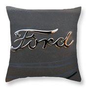 Ford Antique Auto Emblem Throw Pillow