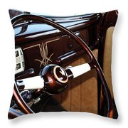Ford Beauty Throw Pillow