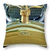 Ford Boyce Motometer 2 Throw Pillow