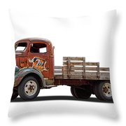 Ford Classic 7 Up Truck Throw Pillow
