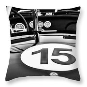 Ford Cobra Throw Pillow