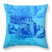 Ford Coupe 34 Throw Pillow