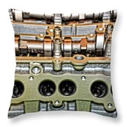Ford Ecoboost Cylinder Head Throw Pillow