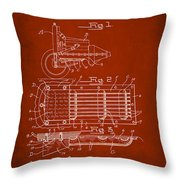 Ford Engine Lubricant Cooling Attachment Patent Drawing 1g Throw Pillow