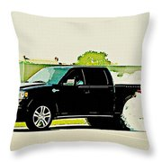 Ford F-150 Throw Pillow
