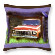 Ford F150 Throw Pillow