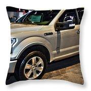 Ford F150 Fx4 Platinum Throw Pillow