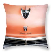 Ford Fairlane #2 Throw Pillow