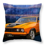Ford Falcon Xb 351 Gt Coupe Throw Pillow