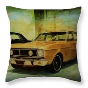 Ford Falcon Xt Gt Throw Pillow