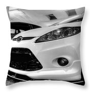 Ford Fiesta In Hdr Throw Pillow