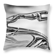 Ford Greyhound Hood Ornament 2 Throw Pillow