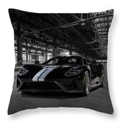 Ford Gt '66 Heritage Edition Throw Pillow