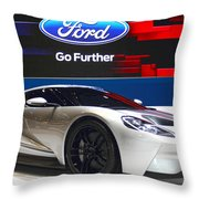 Ford Gt Throw Pillow