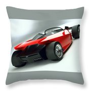 Ford Indigo Concept 2 Throw Pillow