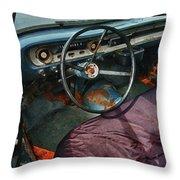 Ford Interior Throw Pillow