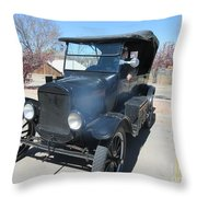 Ford Model T Throw Pillow