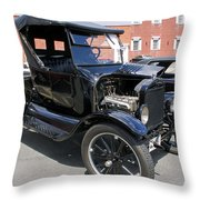 Ford Model T1 Throw Pillow