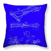Ford Motor Vehicle Drawing 1d Throw Pillow