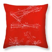 Ford Motor Vehicle Drawing 1e Throw Pillow