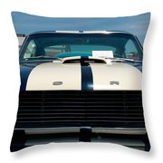 Ford Mustang 2 Throw Pillow