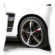Ford Mustang Boss 302 Throw Pillow