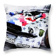 Ford Mustang Hoonicorn - 04 Throw Pillow