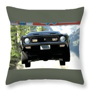 Ford Mustang Mach 1 Throw Pillow