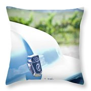 Ford Overdrive Throw Pillow