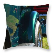 Ford Pickup Fender Throw Pillow