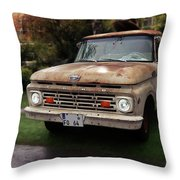 Ford Pickup, Ford 1964 Throw Pillow