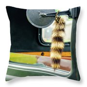 Ford Pickup Ornament Throw Pillow