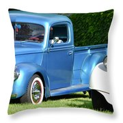 Ford Pickups Throw Pillow