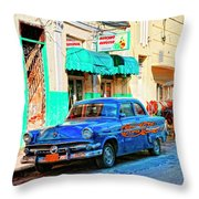 Ford Power Throw Pillow