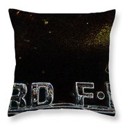 Ford 1 Throw Pillow
