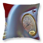 Ford Speedometer Throw Pillow