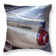 Ford Thunderbird Fender Color  Throw Pillow